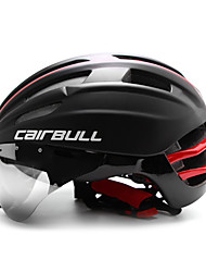 cheap -CAIRBULL Adults Bike Helmet Aero Helmet 28 Vents CE / CE EN 1077 Impact Resistant, Light Weight, Adjustable Fit EPS, PC Sports Road Cycling / Recreational Cycling / Cycling / Bike - Red / Green / Blue