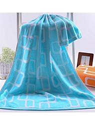Недорогие -Свежий стиль Банное полотенце,В полоску Высшее качество Чистый хлопок Полотенце