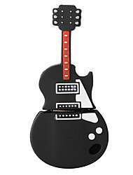 Silicone Guitar High Speed Shockproof 16GB USB 2.0 Flash Drive U Disk Memory Disk