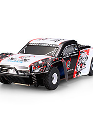 Carro com CR WL Toys K999 2.4G Off Road Car Alta Velocidade 4WD Drift Car Carroça 1:28 Electrico Escovado 30 KM / H Controlo Remoto