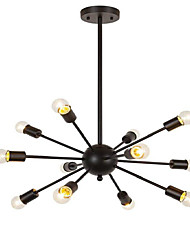 cheap -Nature Inspired Traditional/Classic Modern/Contemporary Mini Style Designers Chandelier Ambient Light For Living Room Indoor Shops/Cafes