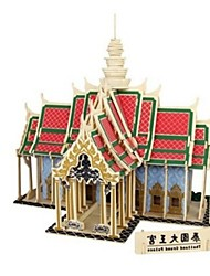 3D Puzzles Jigsaw Puzzle Model Building Kits Toys Architecture Grang Palace 3D Houses Fashion DIY Classic Fashion New Design Kids Adults'