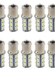10pcs 1156 5050smd 18led ha condotto la lampadina fredda fredda della lampada posteriore della luce freno di arresto di colore della