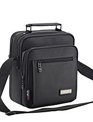 cheap -Men's Bags Oxford Cloth Shoulder Bag Zipper for Casual All Seasons Dark Gray