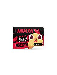 cartão de memória mixza cartão micro sd 64gb classe10 memória do cartão flash micro sd para smartphone / tablet