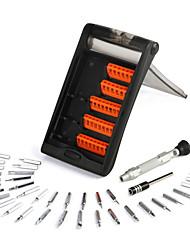 economico -attrezzo di riparazione del telefono pc 38 in 1 attrezzi portatili dell'hardware impostato tablet di multifunzione set di cacciavite di