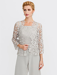 cheap -3/4 Length Sleeve Lace Wedding / Party / Evening Women's Wrap With Lace Shrugs
