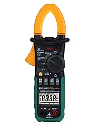 AIMOMETER® MS2108A Digital Clamp Multimeter 4000 Word Auto Range 400 Amps Temperature and Frequency Test