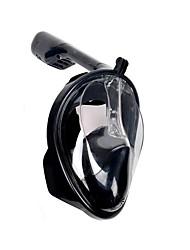 Maschera con boccaglio Professionale Antinebbia Alta qualità Sub e immersioni per Unisex-Fonoun