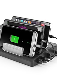 cheap -USB Charger 4 Ports Desk Charger Station Stand Dock US Plug EU Plug UK Plug AU Plug Charging Adapter