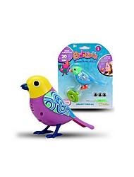 cheap -Electronic Pets Toy Bird Animals Singing with Sound Sensor Holiday New Design Rubber Kid's Adults' Gift