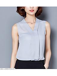 cheap -Women's Club Sexy Summer Tank Top,Solid Deep V Sleeveless Linen Thin