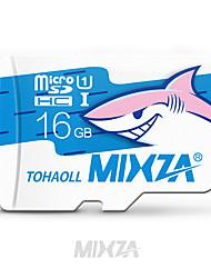 microsd di memoria microsd della scheda di memoria di classe 16gb della micro carta di memoria di memoria di mixza per smartphone / tablet