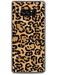 cheap -For Case Cover Pattern Back Cover Case Leopard Print Soft TPU for Samsung Galaxy Note 8 Note 5 Edge Note 5 Note 4 Note 3 Lite Note 3 Note