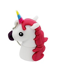 4 gb usb 2.0 de dibujos animados unicornio caballo usb unidad flash disco linda memoria stick pen drive regalo pen drive