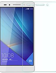 お買い得  -XIMALONG スクリーンプロテクター のために Huawei Huawei Honor 7 強化ガラス 1枚 スクリーンプロテクター ハイディフィニション(HD) / 防爆 / 傷防止