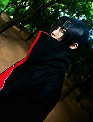 Недорогие -Наруто Itachi Uchiha Муж. 32 дюймовый Термостойкое волокно Черный Аниме Косплэй парики