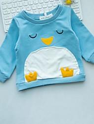 baratos -bebê Crianças Camiseta Desenho Rosa Azul Claro