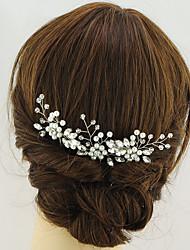 economico -copricapo dorato per capelli. Festa nuziale elegante stile femminile