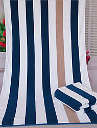 Fresh Style Bath Towel,Striped Superior Quality Polyester/Cotton Blend Towel