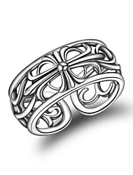 cheap -Women's Cuff Ring Fashion Korean Silver Geometric Jewelry For Other Daily