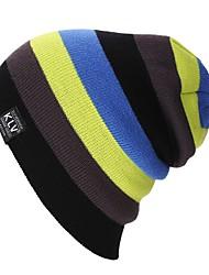 Berretto di lana Sci Caps Skull Unisex Caldo Occhiali da sci Sci Snowboard Tavola da snowboard Acrilico Strisce Corsa Attività all'aperto