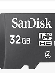 Недорогие -SanDisk 32 Гб Карта памяти карта памяти Class4 4   32