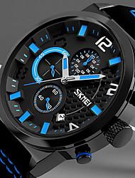 Недорогие -Муж. Повседневные часы Спортивные часы Китайский Кварцевый Секундомер Pезина Группа На каждый день Elegant Рождество Черный