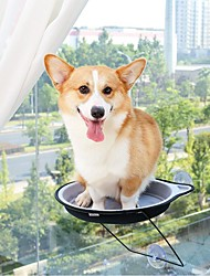 Недорогие -Кошка Собака Кровати Животные Коврики и подушки Однотонный Компактность Серый Для домашних животных