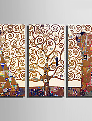 Недорогие -3 холст Вертикальная С картинкой Декор стены Украшение дома
