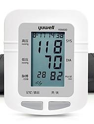 Haut du Bras Arrêt automatique Affichage de l'heure Son Antomatic Off Affichage LCD Mesure de la pression sanguine