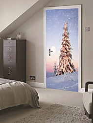 cheap -Still Life Landscape Wall Stickers 3D Wall Stickers Photo Stickers,Vinyl Material Home Decoration Wall Decal