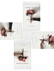 cheap -Modern/Contemporary PU Leather ABS Painting Picture Frames Wall Decorations, 4pcs