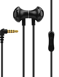 X28 High Quality Stereo 3.5MM Insert With Magnetic Ear Earphone  For Android/Apple Devices