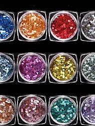 Недорогие -гвоздь блеск арт-деко / ретро ювелирные изделия для ногтей 0,012 кг / коробка