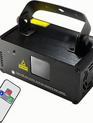 U'King 1set Eclairage Laser de Scène DMX 512 Master-Slave Activé par son Télécommande 15W Professionnel Haute qualité pour Extérieur