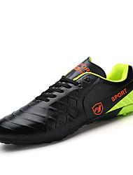 Недорогие -Муж. обувь Дерматин Все сезоны Удобная обувь Спортивная обувь Voetbal Черный / Оранжевый / Желтый