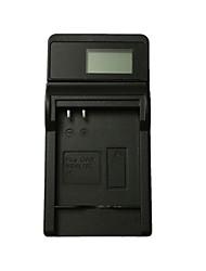 caricabatterie per fotocamera usb ismartdigi 4l lcd per canon nb-4l 6l 8l ixus 100 110 115 120 130is 117 220 230hs - nero