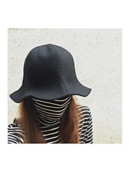 cheap -Women's Vintage Fedora Hat - Solid Colored