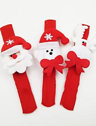 Accessoires de Célébrations Articles pour Célébrer Noël Jouets Costumes de père noël Elk Bonhomme de neige Vacances Mousseux Lumineux