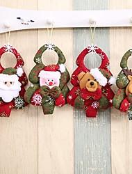 baratos -4pçs Natal Enfeites de Natal, Decorações de férias 0.35