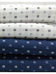 Недорогие -Свежий стиль Полотенца для мытья,В клетку Высшее качество 100% хлопок Полотенце