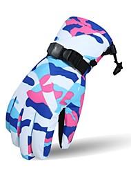 cheap -Ski Gloves Women's Full-finger Gloves Keep Warm Cotton Ski/Snowboarding Bike/Cycling Winter