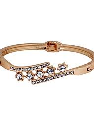cheap -Women's Bangles Rhinestone Fashion Korean Imitation Diamond Alloy Irregular Jewelry Daily Costume Jewelry