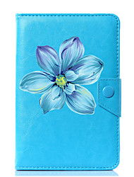 cheap -Universal Flower PU Leather Stand Cover Case For 7 Inch 8 Inch 9 Inch 10 Inch Tablet PC