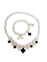 Kid Girls Jewelry Set,All Seasons Alloy Pearl