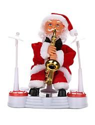 Недорогие -Новогодние подарки Рождественские игрушки Игрушки Костюмы Санта Клауса Праздник Отпуск Новый дизайн Мягкие пластиковые Плетеная ткань