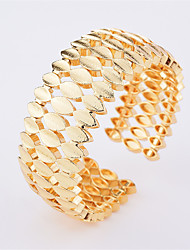 Žene Široke narukvice Ležerne prilike Moda Legura Geometric Shape Jewelry Za Dnevno Izlasci