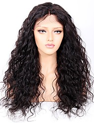 cheap -Premierwigs Gluleless Human Hair Lace Front Wigs Curly Wave Brazilian Human Hair Wigs For African American Women