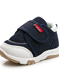 Baby Shoes Canvas Spring Fall Comfort First Walkers Sneakers For Casual Blue